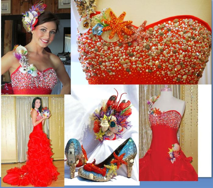 sondra celli lobster dress miss maine