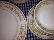 "Golden Autumn china - ""for your Thanksgiving table!"""